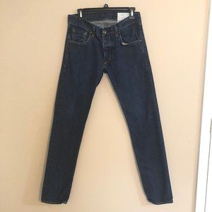 Rag and Bone Jay 23X Size 31 Button Fly